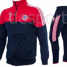 Trening BAYERN MUNCHEN - Bluza si pantaloni conici - Model NOU - 1215 - Trening barbati, Marime: S, Culoare: Din imagine