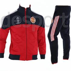 Trening Manchester United - Bluza si pantaloni conici - Modele noi - 1213 - Trening barbati, Marime: S/M, Culoare: Din imagine
