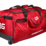 Q6 Bike Bag Geanta hochei rosu-alb junior