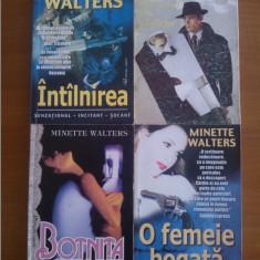 Minette Walters – set 6 carti politiste - Carte politiste