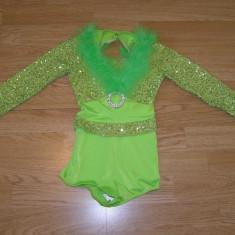 Costum carnaval serbare dans balet gimnastica pentru copii de 6-7 ani - Costum dans, Marime: Masura unica, Culoare: Din imagine