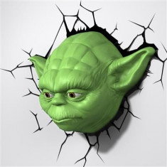Veioza Star Wars Episode 7 Yoda Head 3D Deco Light