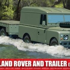 Kit Constructie Airfix Lwb Land Rover Si Trailer - Set de constructie