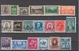 Romania 1900-1950 Lot timbre Nestampilate urme de sarniera (  2 ), Regi, Nestampilat