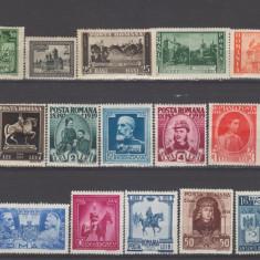 Romania 1900-1950 Lot timbre Nestampilate urme de sarniera ( 2 ) - Timbre Romania, An: 1906, Regi