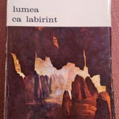 Lumea Ca Labirint - Gustav Rene Hocke - Carte Istoria artei