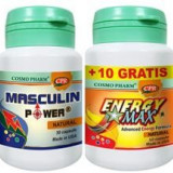 Masculin Power 30cps + Energy Max 10cps.gr. Cosmo Pharm Cod: csph00381