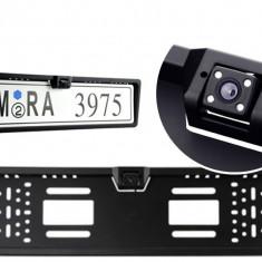 Suport Numar Auto cu Camera marsarier universala pe suport cu Night Vision Led - Ornamente exterioare auto