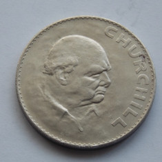 1 Crown (Death of Prime Minister Winston Churchill)-GBR 1965, Europa