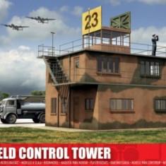 Kit Constructie Airfix Airfield Turn De Control Scara 1:76 - Set de constructie