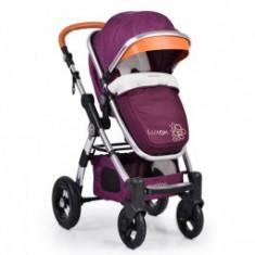 Carucior 2In1 Copii 0-36Luni Cangaroo Luxor Purple - Carucior copii 2 in 1