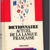 Dictionnaire actuel de la langue française