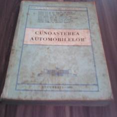 CUNOASTEREA AUTOMOBILELOR-COLECTIV COMUN EDITURA MILITARA 1980/324 PAG.RARA!!!!