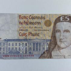 Irlanda 5 pounds 1998
