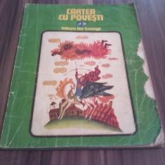 CARTEA CU POVESTI VOL 1 BOGAT ILUSTRATA FORMAT MARE 1981 - Carte poezie copii