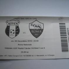 Bilet de meci Astra Giurgiu - Lazio Roma (8 decembrie 2016) - Bilet meci