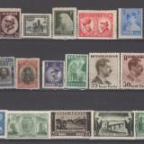 Romania 1900-1950 Lot timbre Nestampilate urme de sarniera (  1 ), Regi, Nestampilat