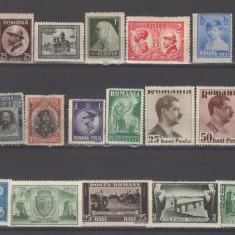 Romania 1900-1950 Lot timbre Nestampilate urme de sarniera ( 1 ) - Timbre Romania, An: 1906, Regi