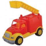 Masina Pompieri 30 Cm Cu 36 Piese Constructie, In Cutie Ucar Toys Uc102