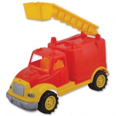 Masina Pompieri 30 Cm Cu 36 Piese Constructie, In Cutie Ucar Toys Uc102 foto