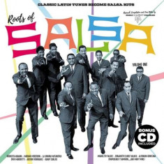 V/A - Roots of Salsa ( 1 VINYL + 1 CD ) - Muzica Latino