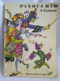 (T) Pinocchio - C. Collodi, 1983, carte copii, Editura Ion Creanga
