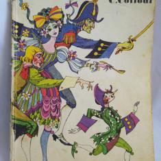 (T) Pinocchio - C. Collodi, 1983, carte copii, Editura Ion Creanga - Carte de povesti