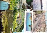 Lot 8 carti postale circulate din Europa