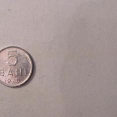 CY - 5 bani 1975 Romania / aluminiu
