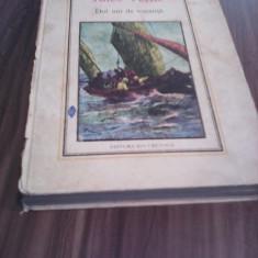 JULES VERNE-DOI ANI DE VACANTA EDITURA ION CREANGA 1975 - Carte de aventura