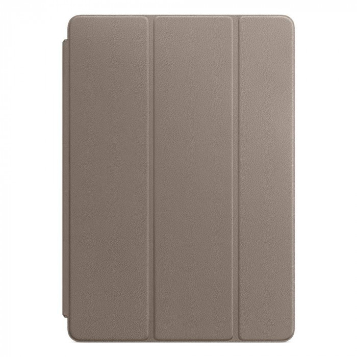 Husa tableta Apple Leather Smart Cover 10.5 inch iPad Pro Taupe