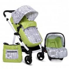 Carucior 2in1 Copii 0-36 Luni Cangaroo Rachel Verde - Carucior copii 2 in 1