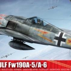 Kit Constructie Airfix Avion Focke Wulf Fw-190A-5/A-6 - Set de constructie