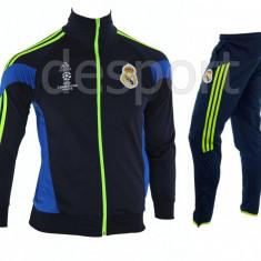 Trening REAL MADRID - Bluza si pantaloni conici - Modele noi - Pret Special 1220 - Trening barbati, Marime: S, M, L, XL, XXL, Culoare: Din imagine
