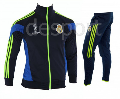 Trening REAL MADRID - Bluza si pantaloni conici - Modele noi - Pret Special 1220 foto