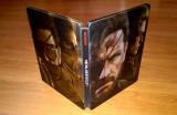 Steelbook Metal Gear Solid V The Phantom Pain + disc bonus + harta , de colectie