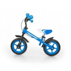 Bicicleta fara pedale Dragon Z Blue - Bicicleta copii