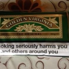 Tutun Golden Virginia --tutun superior volum 100 grame-tutun pentru rulat