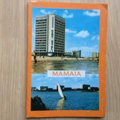 Mamaia pliant prezentare litoral album foto harta ed meridiane 1969 turism hobby