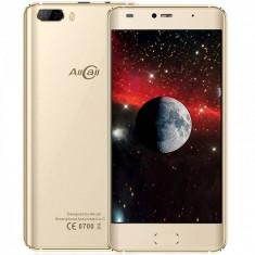Smartphone AllCall Rio 16GB Dual Sim 3G Gold - Telefon mobil Dual SIM