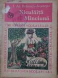 Niculaita Minciuna - I.al. Bratescu-voinesti ,403591