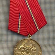 ZET1394 MEDALIE MILITARA -VIRTUTEA OSTASEASCA-SOLD. TRUPE USCAT, MARINAR, AVIATOR - Medalii Romania