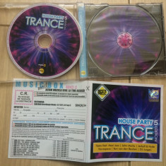 House party 5 trance edition Various cd disc muzica house dance trance roton
