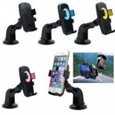 Suport Auto Telefon Cu Brat, 360 Grade Universal, Universala