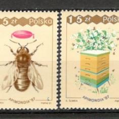 Polonia.1987 Congres mondial de apicultura KP.190 - Timbre straine, Nestampilat