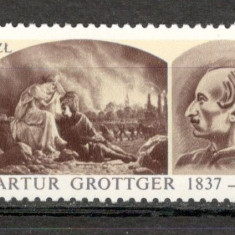 Polonia.1987 150 ani nastere A.Grottger-Pictura KP.188 - Timbre straine, Nestampilat