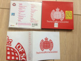 Ministry of sound the annual romania cd disc compilatie 2004 cd muzica pop house, roton