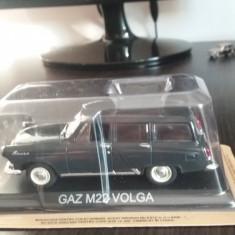 Macheta metal gaz m22 volga + revista masini de legenda nr.23 - Macheta auto, 1:43