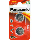 BATERIE LITIU CR2025 PANASONIC 2BUC/SET