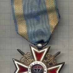 """ZET1388 MEDALIA - ORDINUL ,,COROANA ROMANIEI """" MODEL 1916, DE RAZBOI , CU SPADE"""